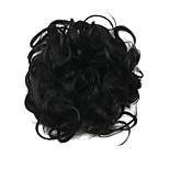 Wig Black 6CM High-Temperature Wire Hair Circle Colour 2