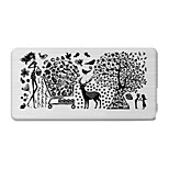 BlueZOO Rectangle Printing Nail Art Stamping (C-034)