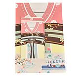 lettre de série hanfu fixé d'enveloppe (3 enveloppe 6 de la papeterie, l'enveloppe de la papeterie 8.6 * 17.6cm, 18,5 * 26cm, motif