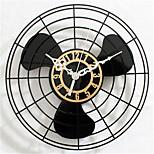 Electric Fan Wall Clock
