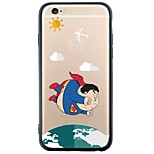 iPhone SE / 5s / 5 TPU Cartoon Transparent Body Back Cover