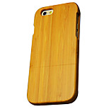 Back Cover Ultra-thin / Other Wooden Bamboo HardApple iPhone 6s Plus/6 Plus / iPhone 6s/6