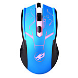 War Wolf 4D Wired Gaming Mouse 1600dpi Backlit Breathing Light Mice for LOL/CF/DOTA Black/Red/Gold/Blue