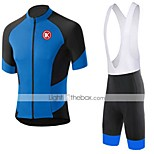 KEIYUEM Cycling Clothing Sets/Suits Unisex BikeBreathable / Quick Dry / Dust Proof / Wearable / Sweat-wicking / Compression / Back Pocket