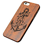 Back Cover Ultra-thin / Other Feathers Wooden HardApple iPhone SE/5s/5