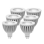 IENON® 6 pcs  3W GU5.3(MR16) LED Spotlight MR16 1 COB 240-270 lm Warm White / Cool White Decorative DC 12 / AC 12 V