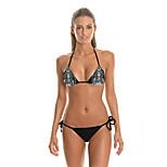 FuLang  Bikinis Set   Beach swimsuit    fashion    personality   sexy  backless   Witch 3D  Low Waist   SC043