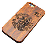 Pear Wooden Chinese Dragon Carving Protective Back Cover Hard iPhone Case for iPhone SE/iPhone 5S/iPhone 5