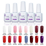 ILuve Nail Polish For Nail Art UV Gel Odorless Long Lasting Soak Off 15ml/per Bottle  238 Color Choices GLA1323-1338