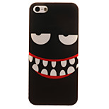 TPU Material + IMD Crafts Perfect Fit Big Mouth Pattern Cellphone Case for iPhone 5/5S/ SE