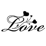 Wall Stickers Wall Decals Style Love English Words & Quotes PVC Wall Stickers