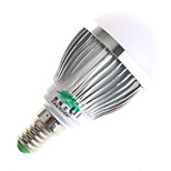 Zweihnder W466 E14 3W 280LM Warm White/White Light LED Milky Cover Energy-Saving Bulbs