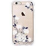 Kakashi Blumenmuster tpu Malerei Airbag Absturz weichen Fall für iphone 6s / 6 / 6S plus / 6 plus (Tuberose)