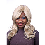 Europe And The United States The New Golden Side Big Curly Hair Wig 28 Inch