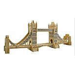 London'S Tower Bridge Wood 3D Puzzles Diy Toys