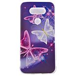 tpu Material halb Schmetterling gemalt Muster weichen Telefonkasten für asus zenfone lg g5