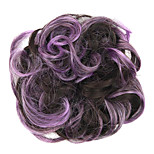 Wig Purple 5CM High-Temperature Wire Color Hair Ring Colour 2/33-FP01