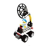 dr 6701 rover lunaire de la musique réseau des blocs de construction de marque espace d'assemblage des jouets pour lego torsadée oeuf