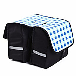 Panniers & Rack Trunk Waterproof / Shockproof / Wearable Cycling/Bike Mesh / 600D Ripstop Light Gray / Black / Blue