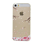 Through Color Huayu Pattern TPU Soft Case Phone Case for iPhone 5/5S/SE