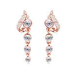 Crystal / Gold Plated Earring Stud Earrings / Drop Earrings Wedding / Party / Daily 1 pair