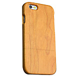 Back Cover Ultra-thin / Other Wooden Wooden HardApple iPhone 6s Plus/6 Plus / iPhone 6s/6