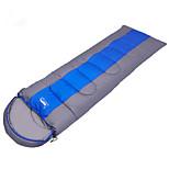 Спальный мешок Прямоугольный Односпальный комплект (Ш 150 x Д 200 см) 0~5~+12 Пористый хлопок 240g 190+30X75 Пешеходный туризм Походы