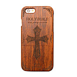 Pear Wooden Holy Bible Cross Carved Protective Back Cover Hard iPhone Case for iPhone 6S Plus/iPhone 6 Plus/iPhone 6s/6