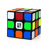 Magic Cube IQ Cube Yongjun Three-layer Professional Level Smooth Speed Cube Magic Cube puzzle Black ABS