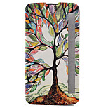 Tree of Life Painted Voltage Holster PU Material Clamshell Phone Cover for LG G5/K10