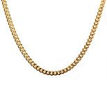 Муж. Женский Ожерелья с подвесками Ожерелья-цепочки Титановая сталь Мода европейский Бижутерия Назначение Повседневные