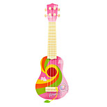 Plastic Blue/Green/Pink Simulation Child Guitar for Children Above 8 Musical Instruments Toy Random Delivery