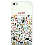 Ultra-thin Cartoon Protection Matte Relief For Huawei honor6(Cats99)