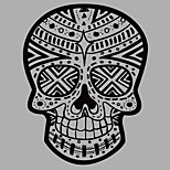 Shapes Skull Wall Stickers  Abstract / 3D Wall Stickers Plane Wall Stickers,vinyl 58*75cm