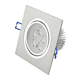 HRY® 5W Cold/Warm White Color Square Led Recessed Ceiling Downlights(220V)