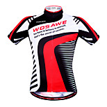 WOSAWE Men's Cycling Jersey Summer Style Short Sleeve Cycling Clothing Ciclismo Bicycle Bike Wear Shirt Outdoor