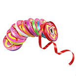 1Pcs Colorful ribbon 1.2cm wide solid color festival decor ribbons cheap birthday party ornament string(Random Color)