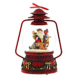 ABS Red Creative Romantic Music Box for Gift