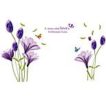 Animais / Botânico / Palavras e Citações / Vida Imóvel / Moda / Floral / Lazer Wall Stickers Autocolantes de Aviões para Parede,PVC