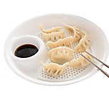 Dumpling Holds Plate Plastic Storage Plate Holder Container Tray
