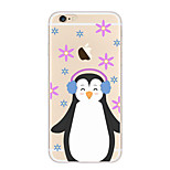 Full Body Case Transparent Body Cartoon TPU SoftApple iPhone 6s Plus/6 Plus / iPhone 6s/6