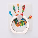 universal celular ring stent de metal rotação de 360 graus de criatividade