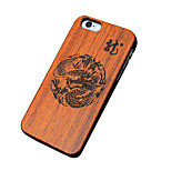Back Cover Ultra-thin / Other Other Wooden Hard Chinese StyleCase Cover ForApple iPhone SE/5s/5