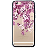 iPhone SE/5s/5 TPU Soft Flower Back Cover