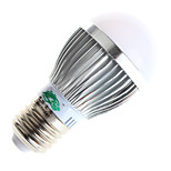 Zweihnder W465 E27 3W 280LM Warm White/White Light LED Milky Cover Energy-Saving Bulbs