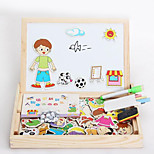 Magnetic New Spell Spell, Fancy Little Sketchpad, Puzzle Toys-The Figure