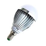 5W E14 Bombillas LED de Globo A60(A19) 10 SMD 5730 480lumens lm Blanco Cálido / Blanco Natural Decorativa AC 100-240 V 1 pieza