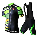 KEIYUEM Cycling Clothing Sets/Suits Unisex BikeBreathable / Quick Dry / Dust Proof / Wearable / Back Pocket / Stretch / Sweat-wicking /