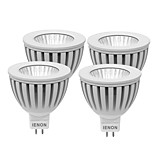 IENON® 4 pcs 3W  GU5.3  LED Spotlight MR16 1 COB 240-270 lm Warm White / Cool White Decorative DC 12 / AC 12 V