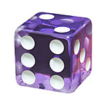 Royal Holy Magic Large Screen Dice Game Appeal Board Game 18 Mm Square Acrylic Resin Transparent Dice 20 Grains